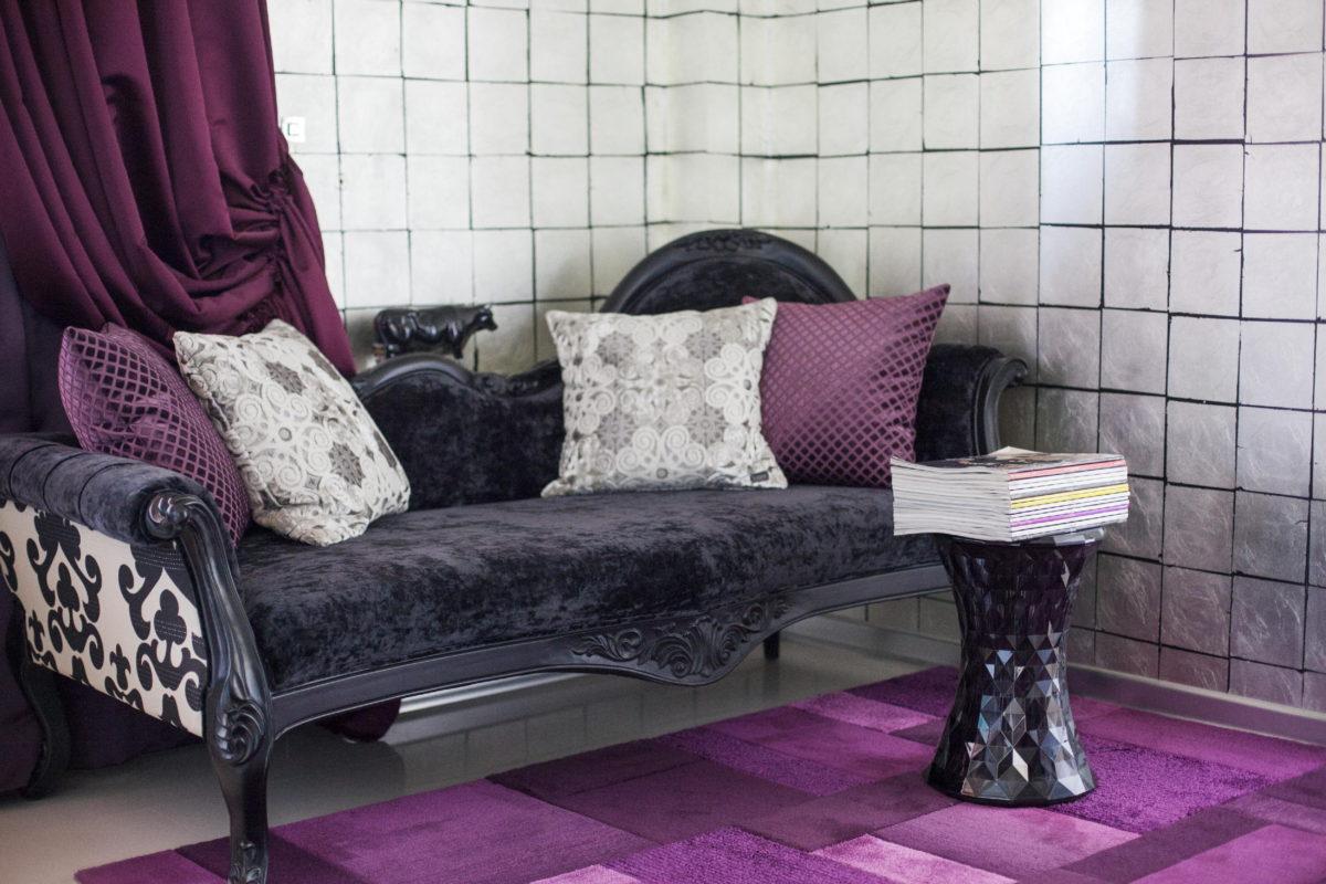 Двухкомнатная квартира в Казани для фанатов красивых вещей
