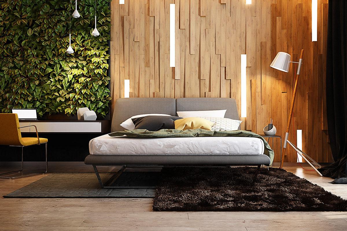 Как с помощью освещения сделать спальню современной и стильной: 14 примеров