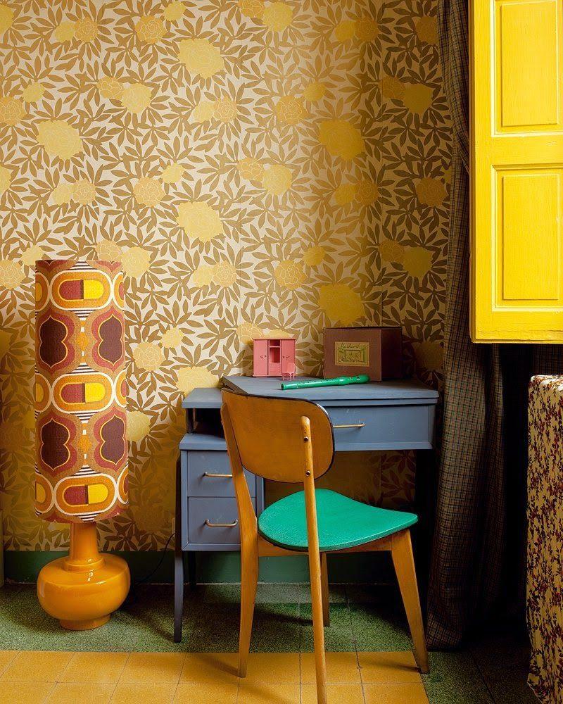 Кабинет в  цветах:   Бежевый, Желтый, Коричневый, Темно-коричневый, Черный.  Кабинет в  стиле:   Минимализм.