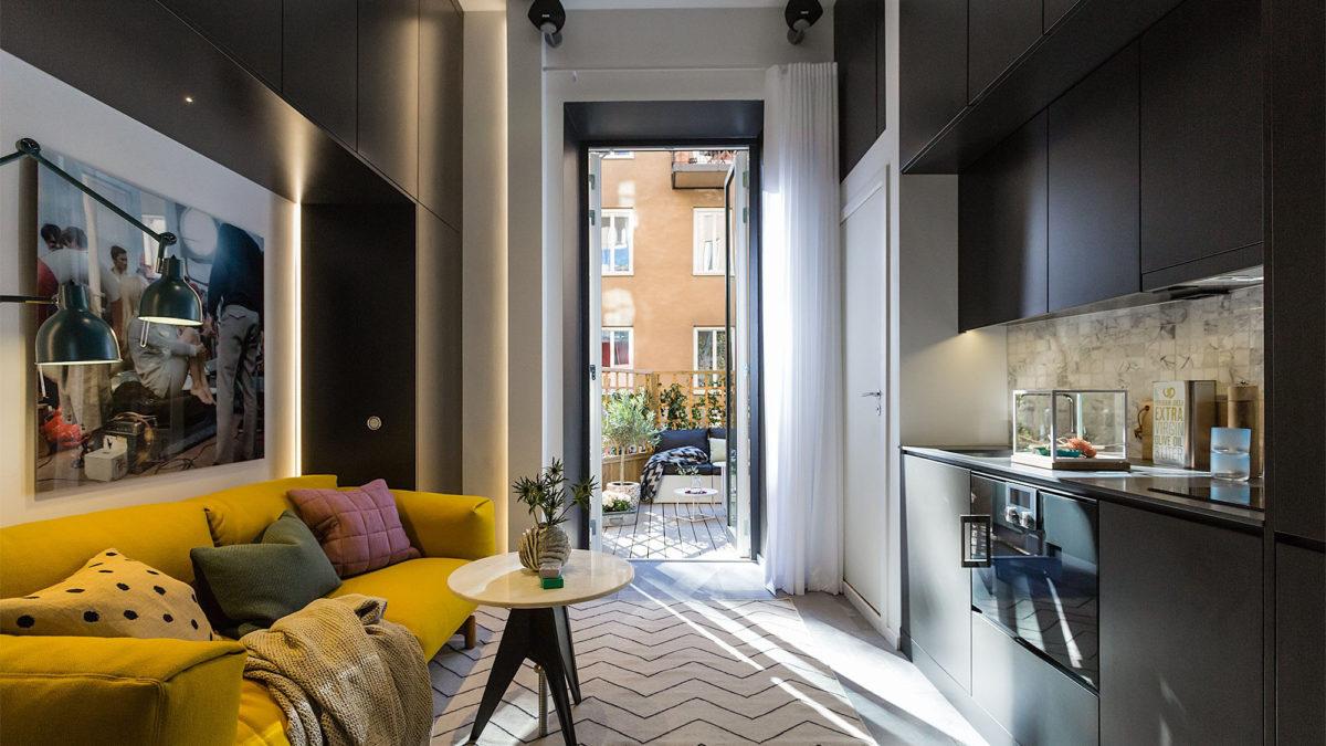 20 маленьких квартир, в которые захочется переехать прямо сейчас