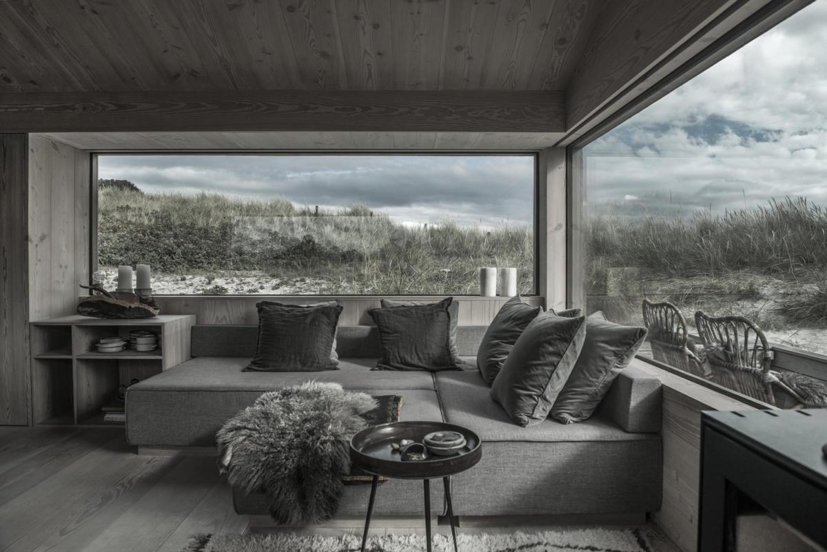 Суперсовременный деревянный дом площадью всего 54 метра