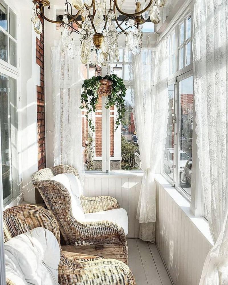 Дизайн балкона в стиле прованс коллекция изображений.