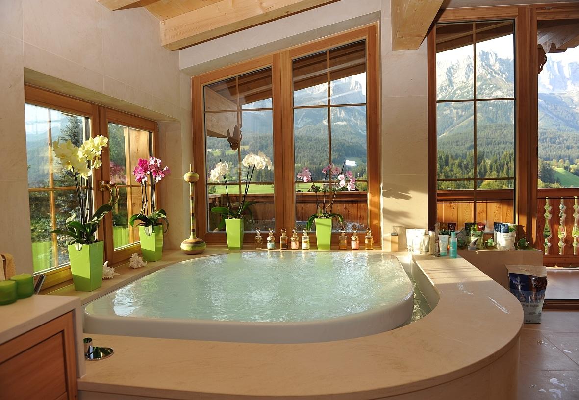 Дизайн большой ванной комнаты: крутая подборка идей