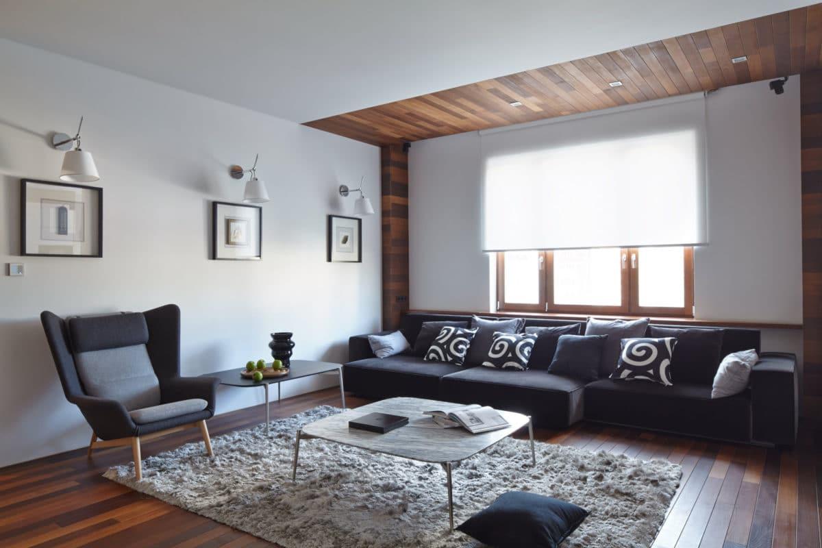 Трёхкомнатная квартира в Москве: четыре цвета, три комнаты и масса идей