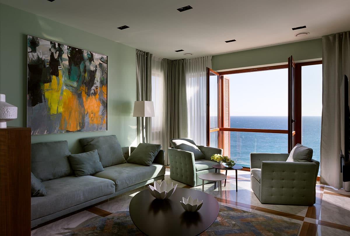 Квартира с видом на море: 93 метра комфорта