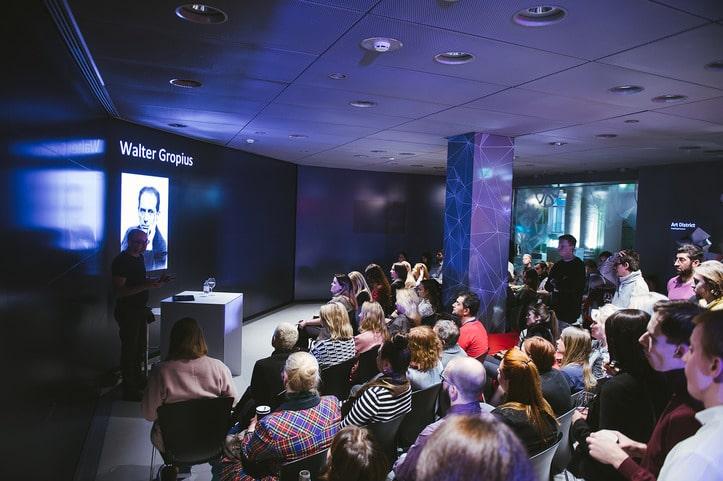Открытие серии мероприятий Audi City Art District: вечер немецкого дизайна