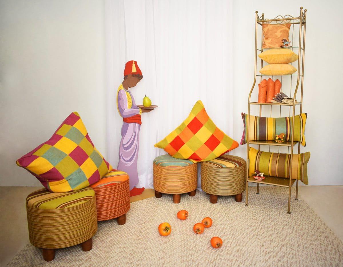 Дизайн-ателье выпустило коллекцию новогоднего текстиля