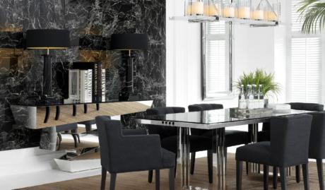 Кухня/столовая в  цветах:   Светло-серый, Серый, Темно-коричневый, Бежевый, Зеленый.  Кухня/столовая в  стиле:   Арт-деко.