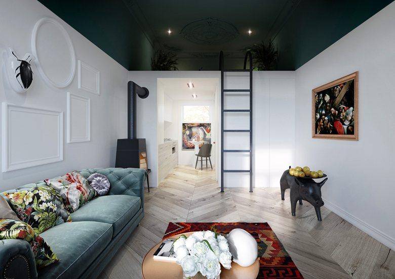 Гостиная в  цветах:   Бежевый, Бордовый, Светло-серый, Сиреневый, Фиолетовый.  Гостиная в  стиле:   Минимализм.