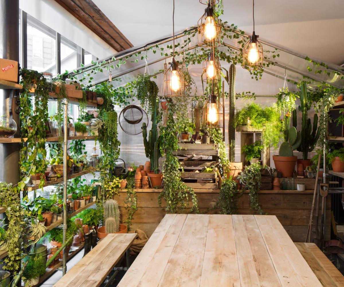Дом, который специально оформили в цвете года — greenery
