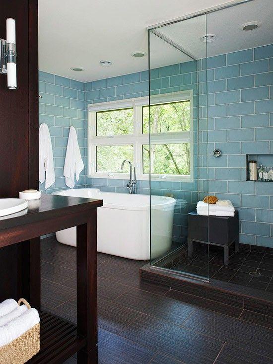 Ванная в  цветах:   Бирюзовый, Голубой, Салатовый, Фиолетовый.  Ванная в  стиле:   Минимализм.
