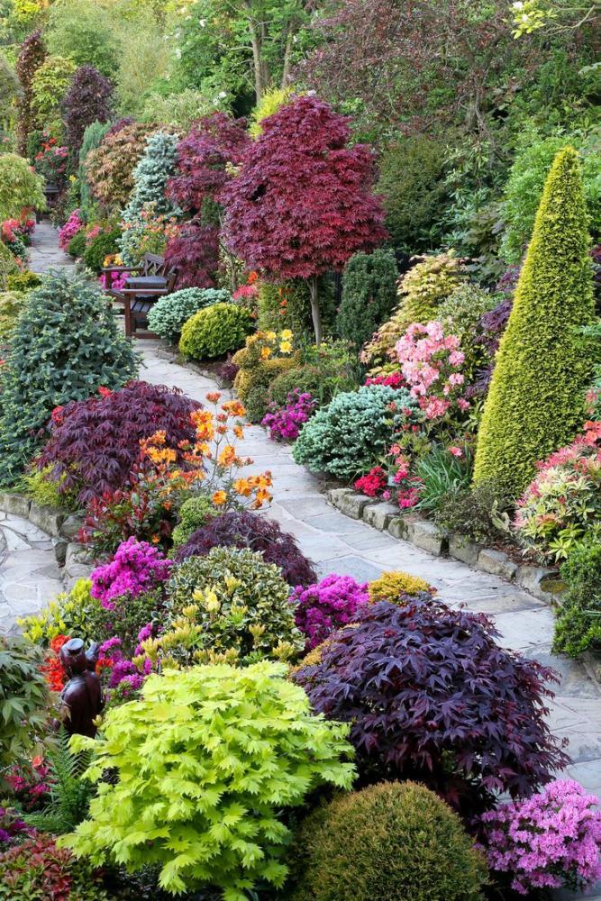 Сад и участок в  цветах:   Бежевый, Зеленый, Розовый, Темно-зеленый.  Сад и участок в  .