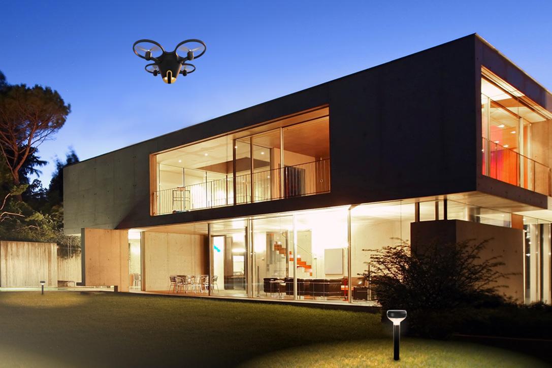 Мечта стала реальностью — теперь квадрокоптер может охранять ваш дом