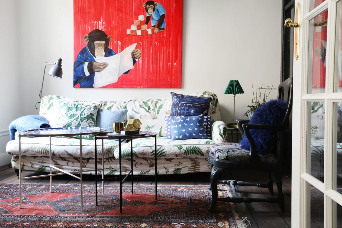 Интересно и ярко: 157 крутых идей для декора стен