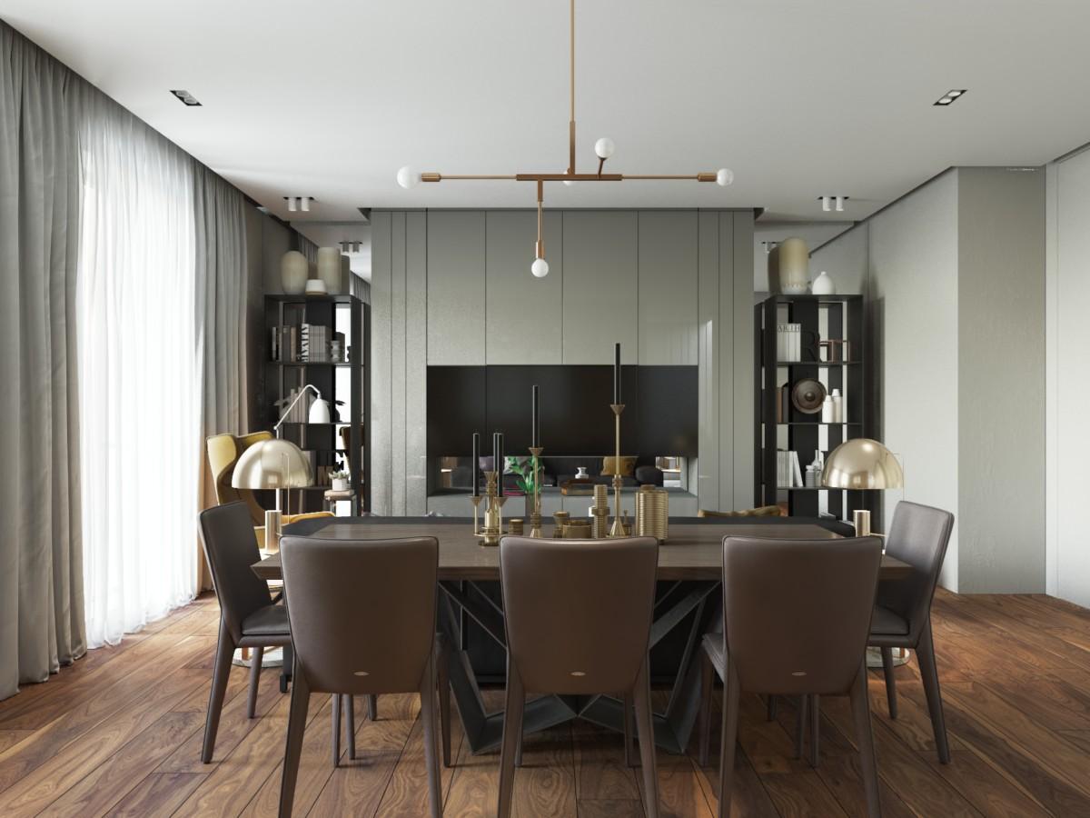 Стильная квартира для молодой семьи в Лондоне
