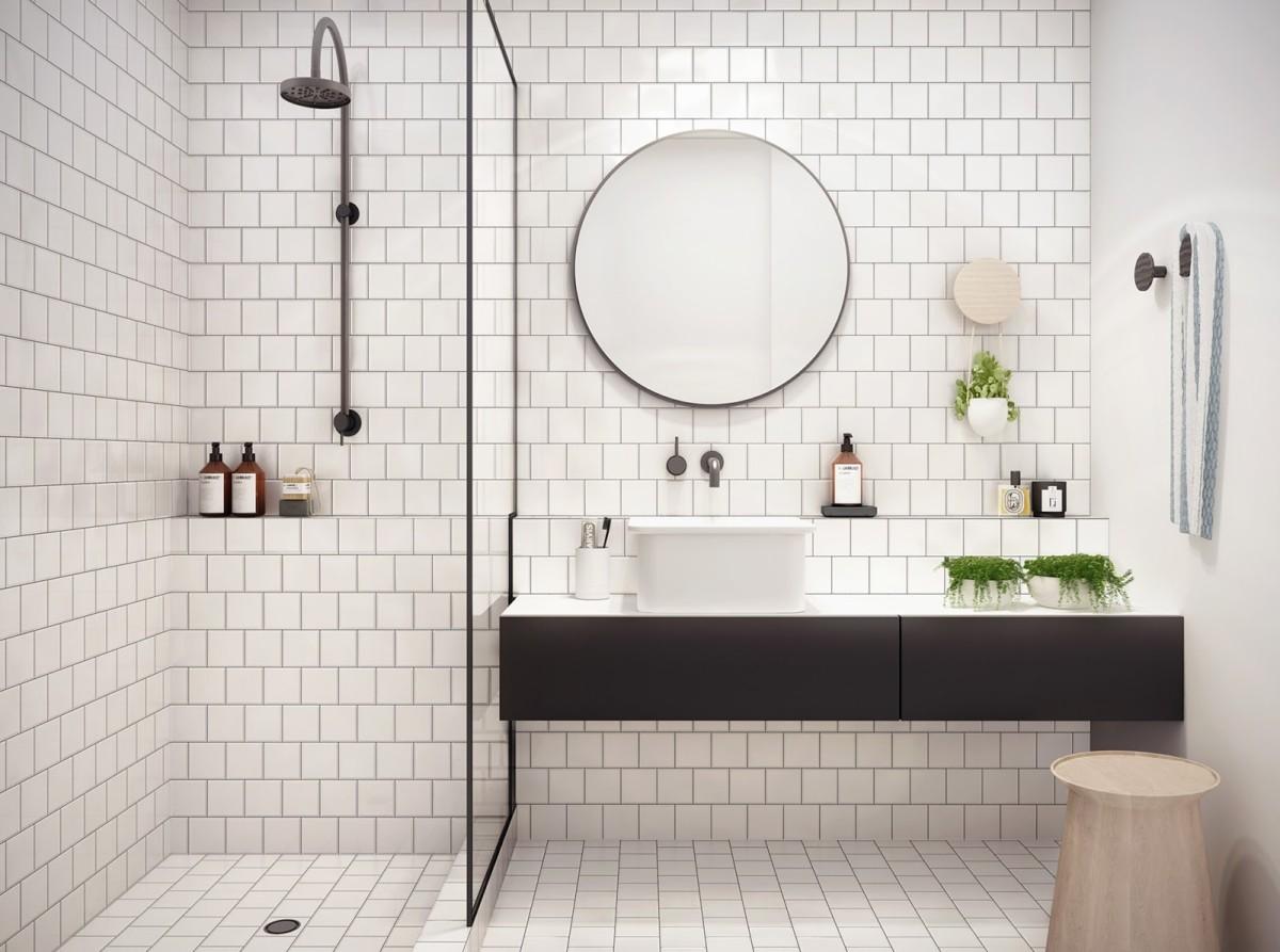 Как сделать маленькую ванную просторнее: выбираем душевую кабину