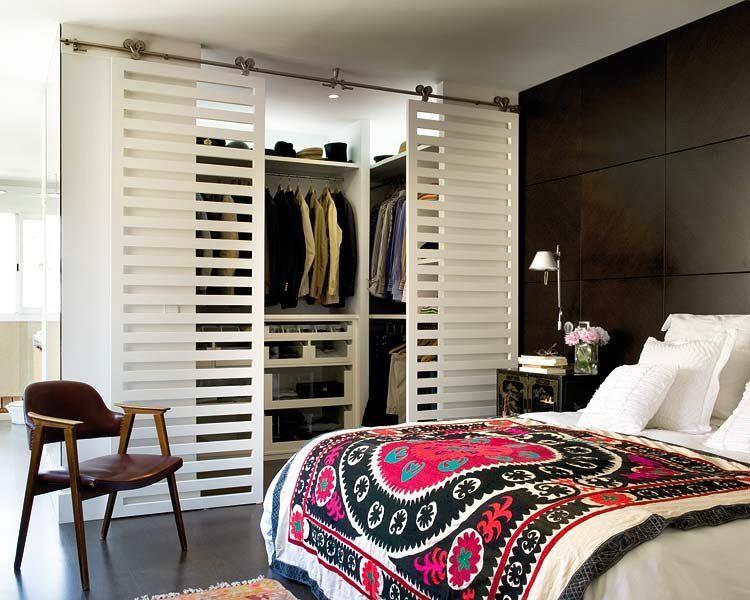Интерьер спальни с гардеробной. 20 фото :: nash homer - desi.