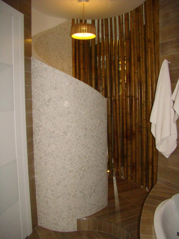 Эскиз ванной в квартире в Беляево.