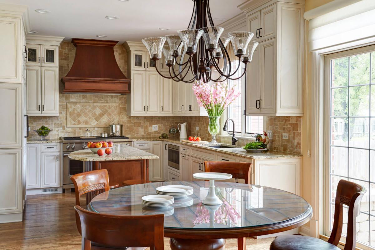 кухня в частном доме обустройство и интерьер