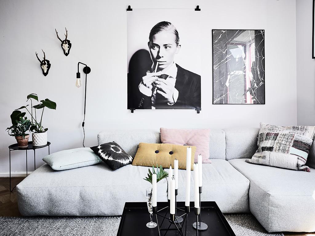 Скандинавский интерьер: 20 примеров чистого стиля