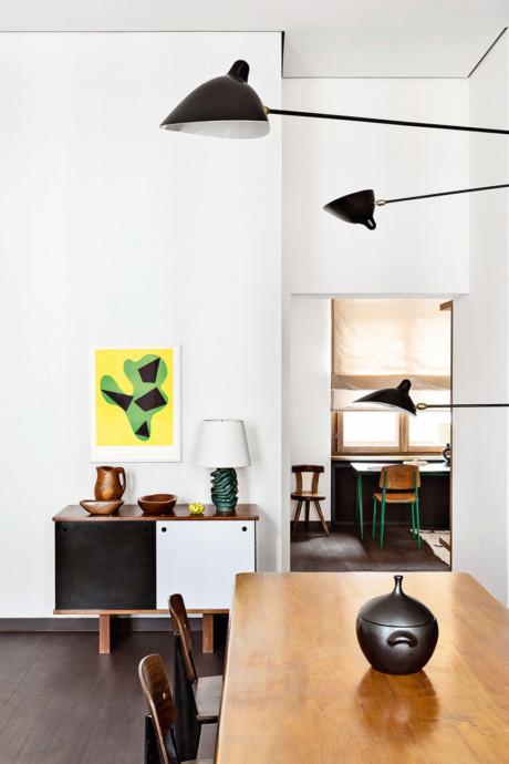 Кухня/столовая в  цветах:   Бежевый, Коричневый, Светло-серый, Темно-коричневый.  Кухня/столовая в  стиле:   Скандинавский.
