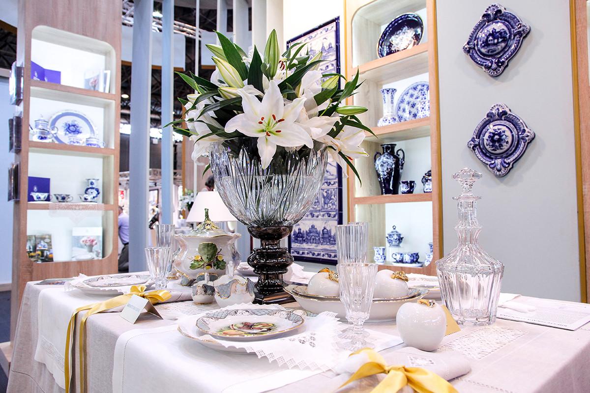 Русские промыслы восхитили гостей выставки Maison & Objet