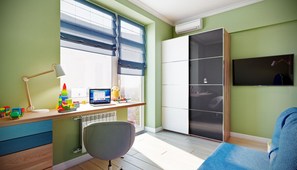 интерьер комнаты школьника