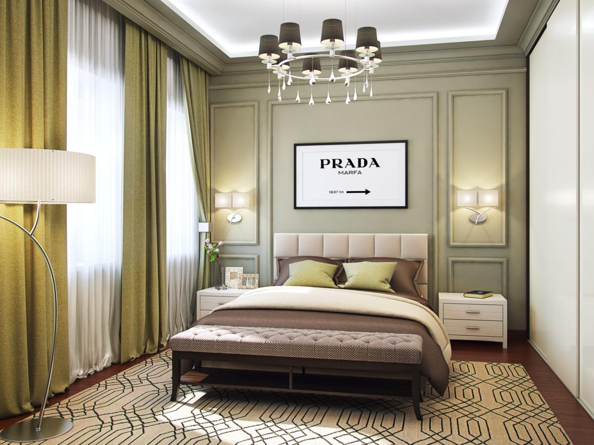 Спальня № 2. Предназначена для дочери, которая довольно часто приезжает погостить у родителей.