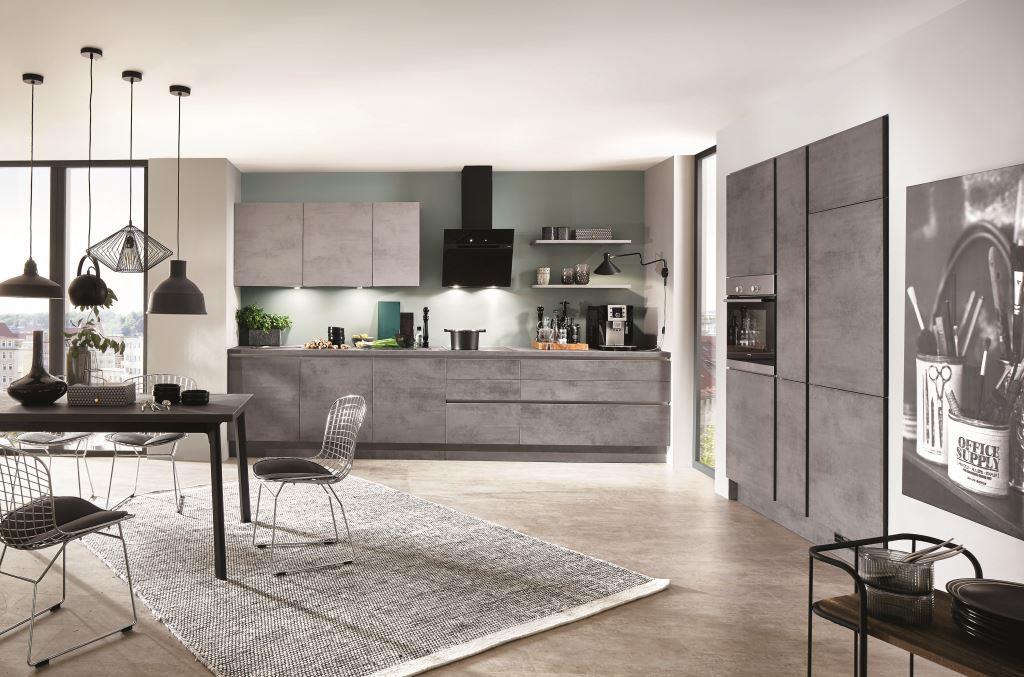 Где найти самую модную кухню: под бетон, гранит, бронзу и даже керамику