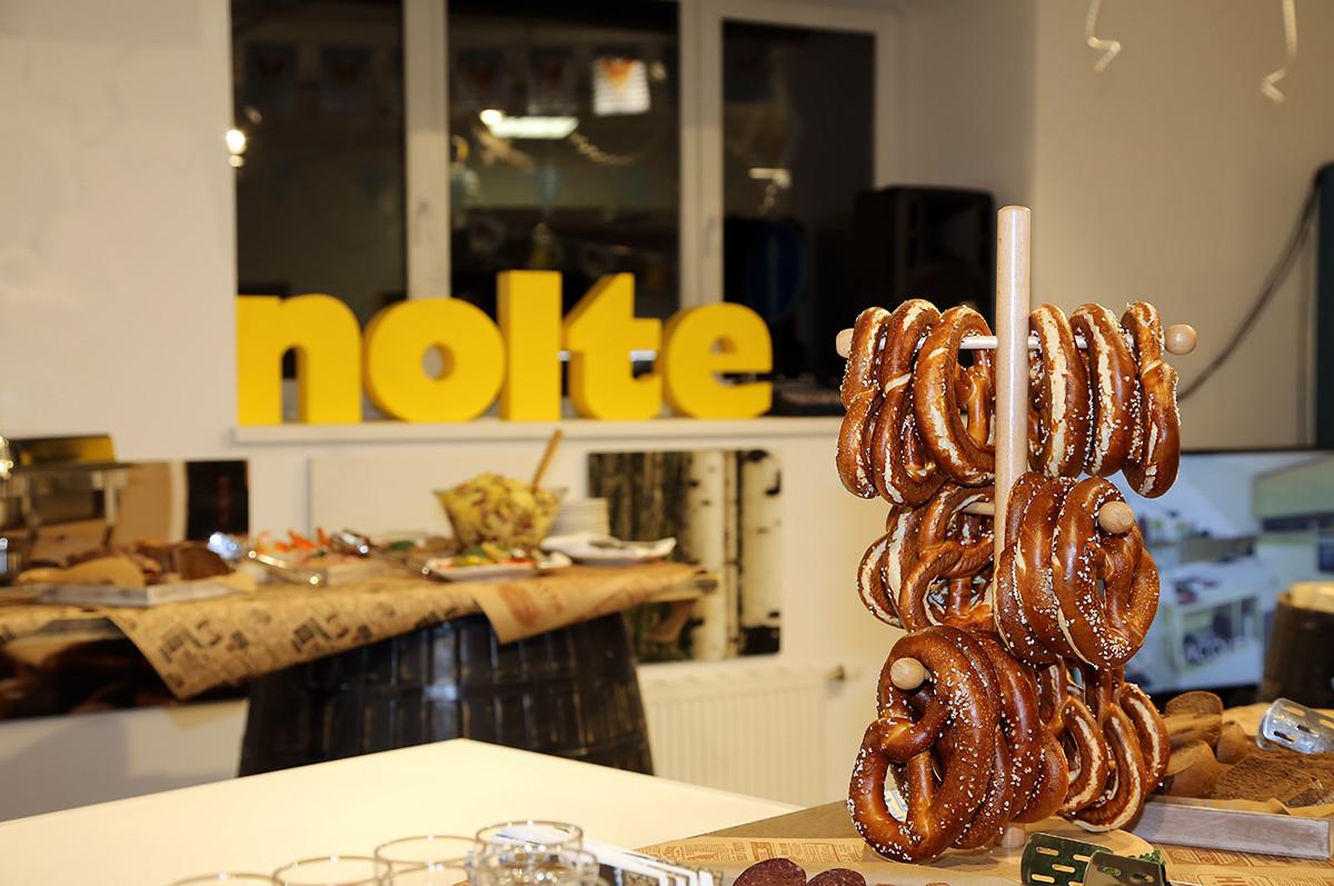 Октоберфест в Москве — фотоотчёт с праздника компании Nolte