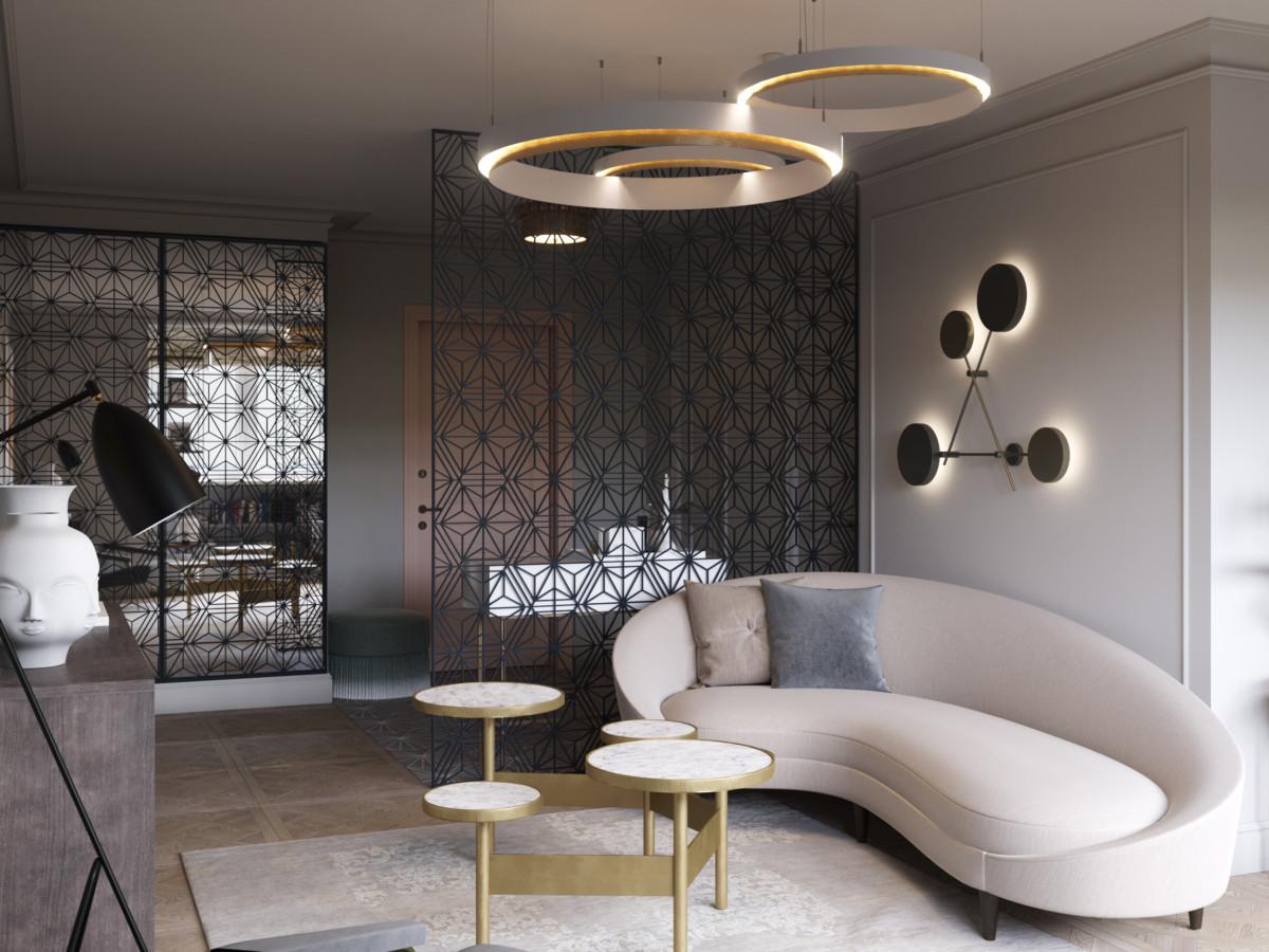 На берегу Парижа: дизайн квартиры во французском стиле