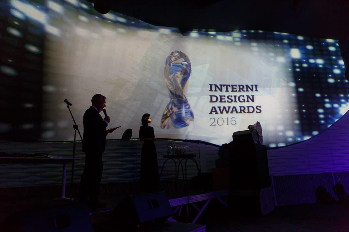 Прошла 2-я церемония награждения лауреатов премии Interni Design Awards