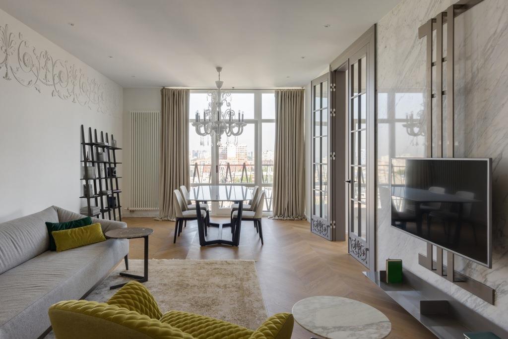 Как французский интерьер создали в харьковской квартире