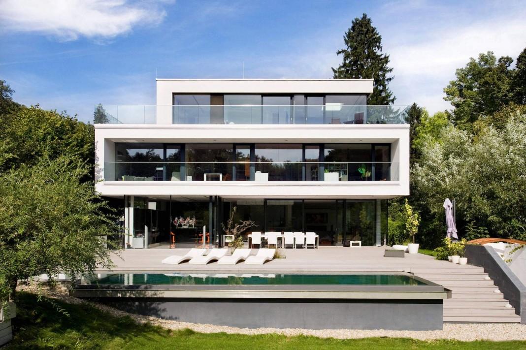 Стиль минимализм в архитектуре частного дома