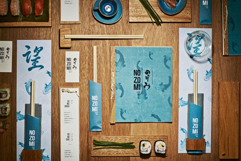 10 интерьеров для любителей суши