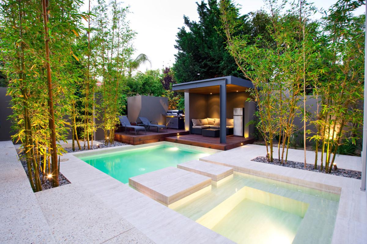 Стиль минимализм в ландшафтном дизайне: преимущества и особенности