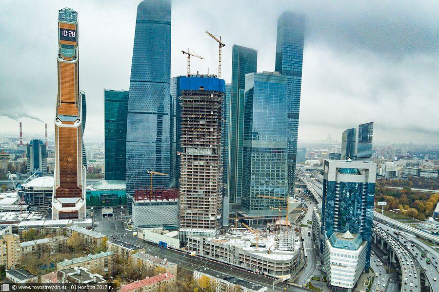 10 футуристичных новостроек Москвы, достойных Нью-Йорка