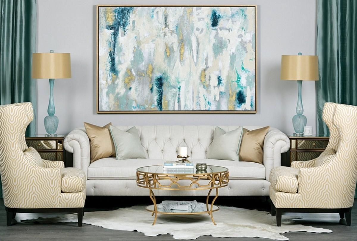 5 модных стилей в живописи, которые любят дизайнеры интерьеров