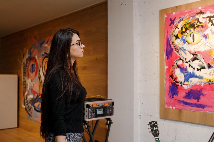 В октябре прошла выставка голландского художника-абстракциониста Маттейса Шольтена