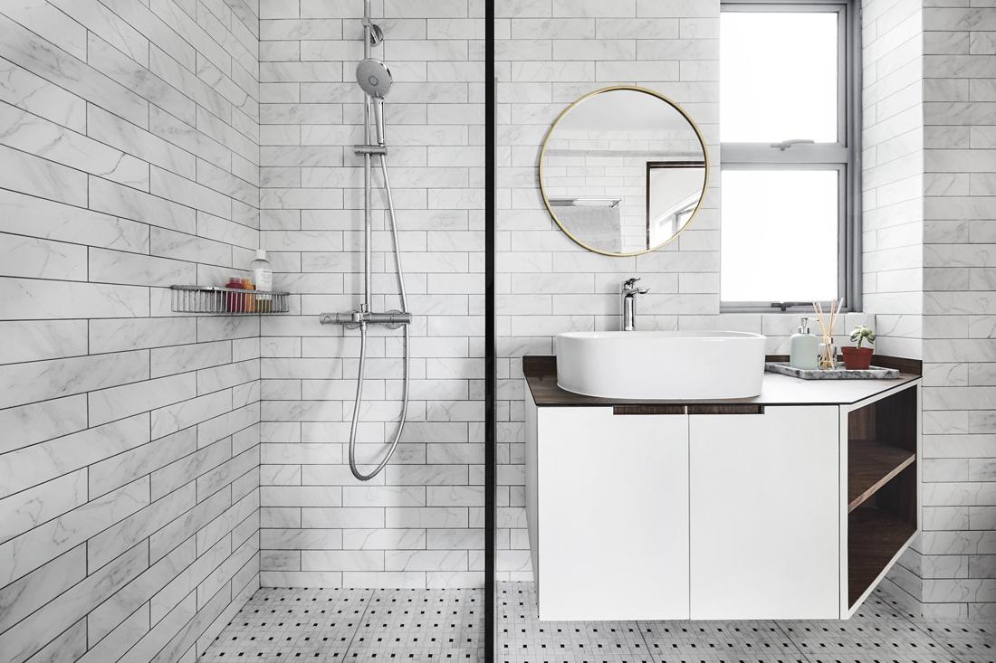 5 изящных решений для современной ванной комнаты
