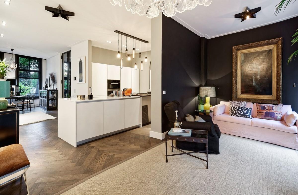 Дизайн таунхауса: проект интерьера на 150 квадратах