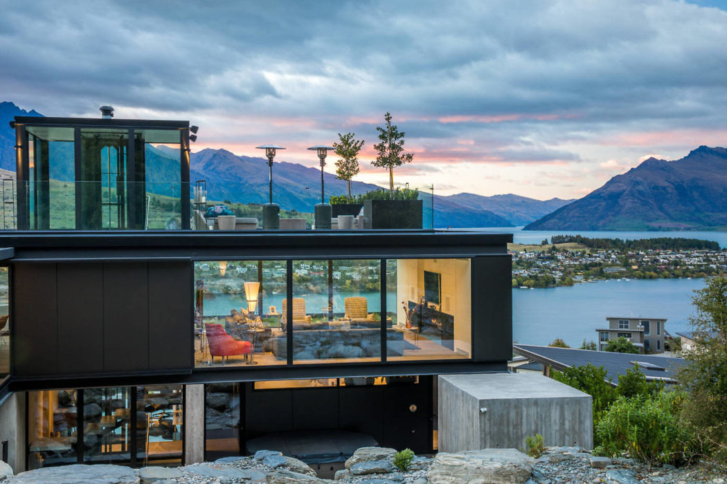 Фантастический дом будущего в Квинстауне, в Новой Зеландии