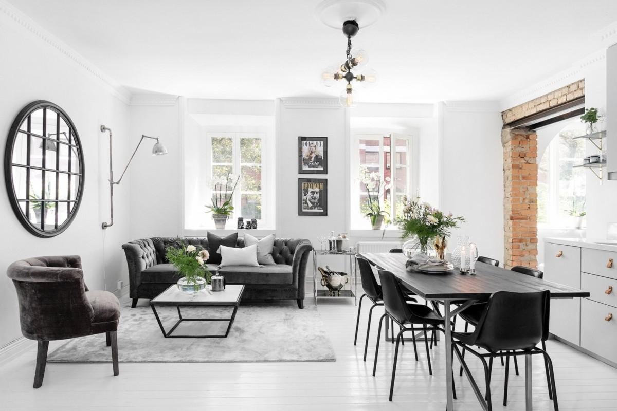 Дизайн двухкомнатной квартиры: 5 проектов