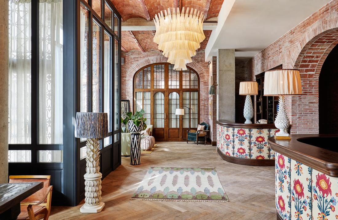 Очаровательный отель Soho House в Барселоне