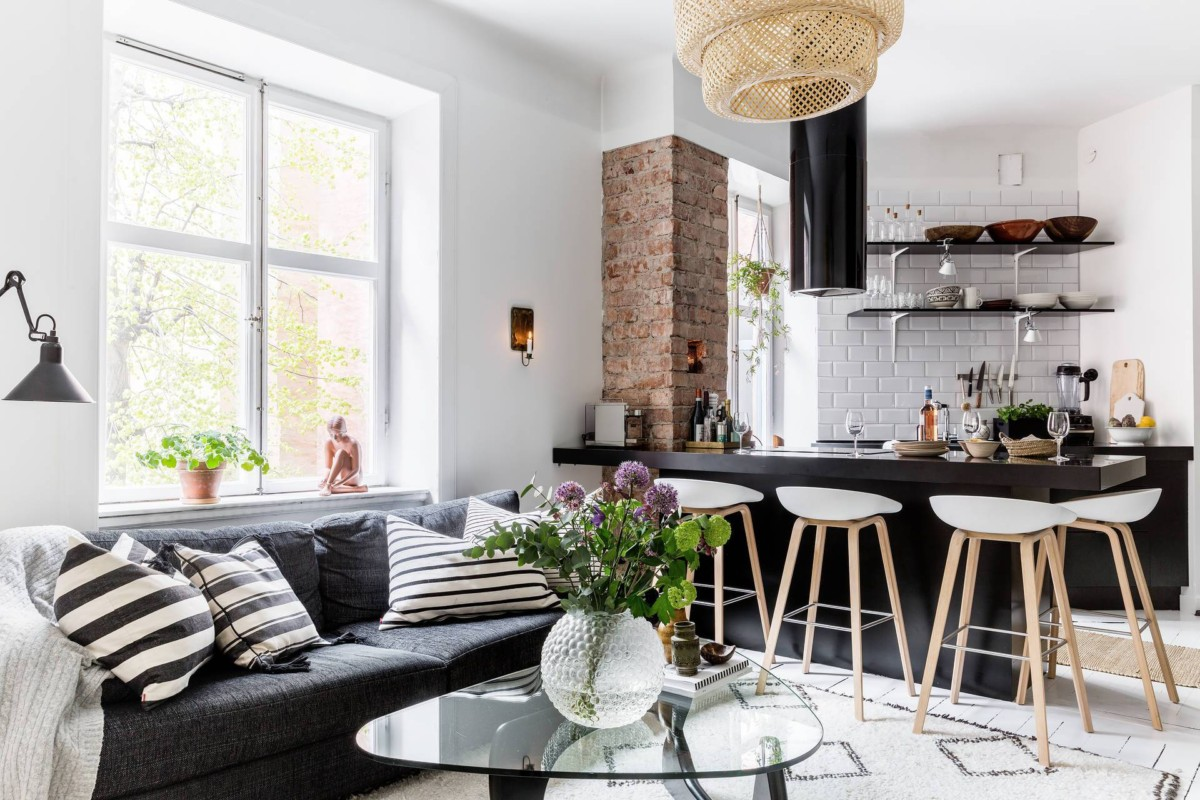Квартира в скандинавском стиле: 5 дизайн-проектов с фото