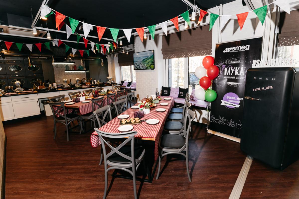 В Москве открылась партнёрская кулинарная студия Smeg — «МУКÁ»