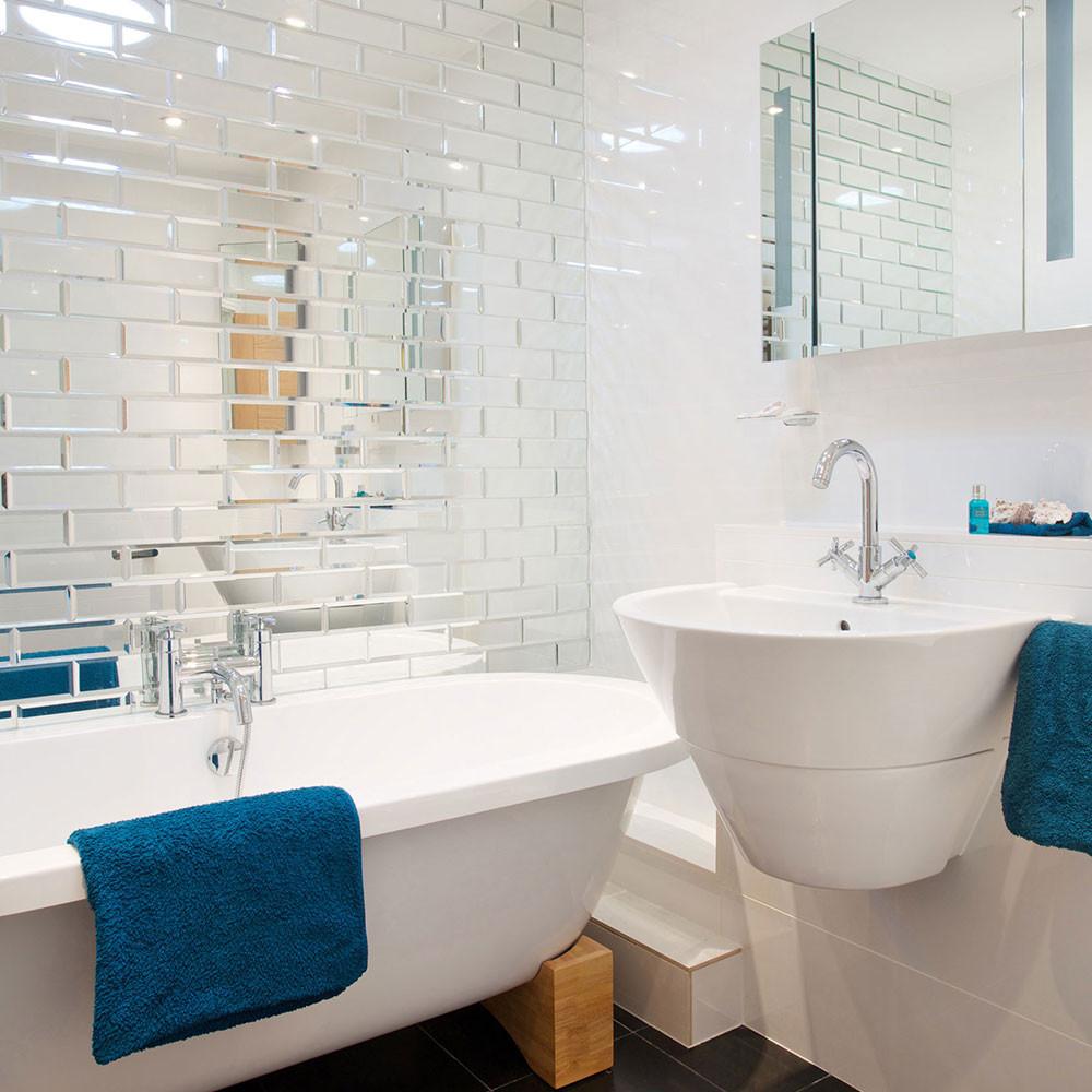 маленькая ванная комната современный дизайн Roomblecom