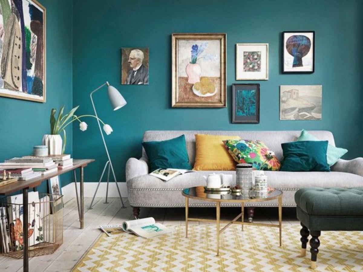 В какой цвет красить: самые подходящие оттенки для гостиной