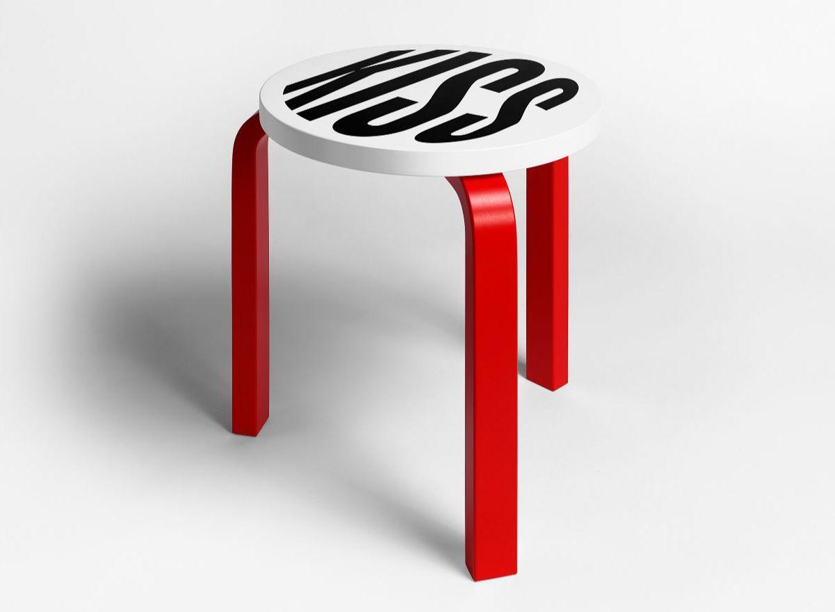 Художники переосмыслили облик иконического табурета Stool 60