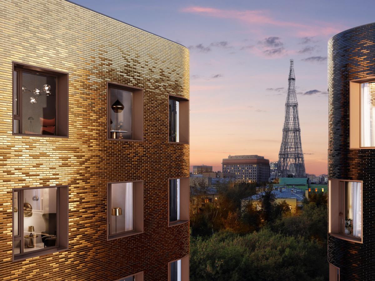 Новый жилой комплекс премиум-класса появится на Шаболовке